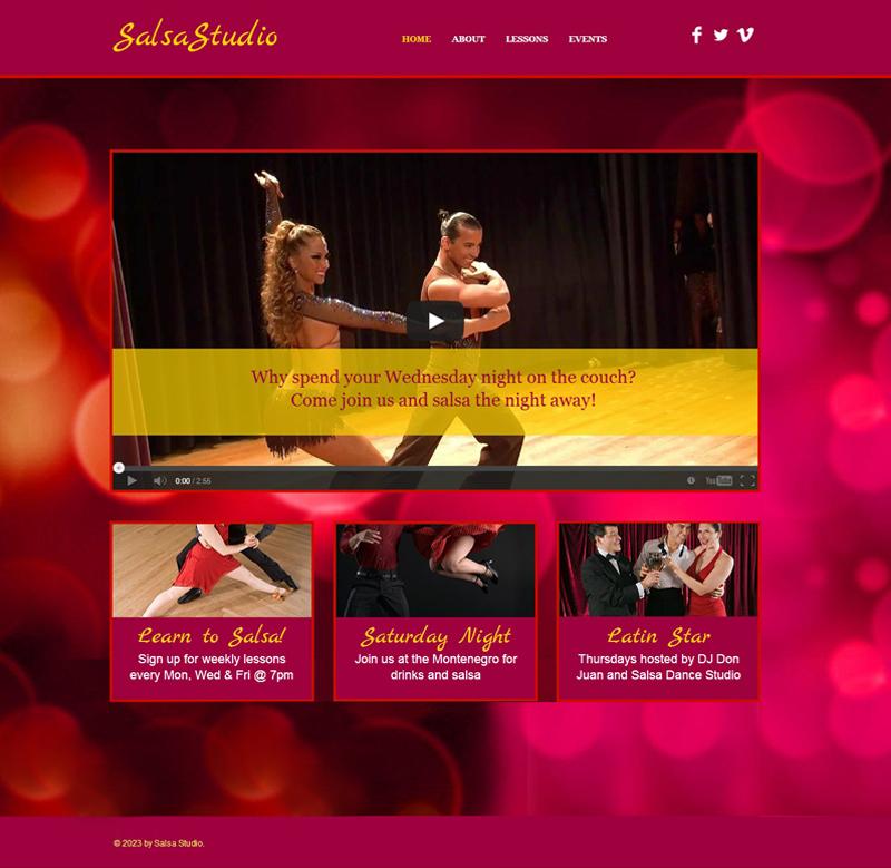 Estúdio de Dança – 012
