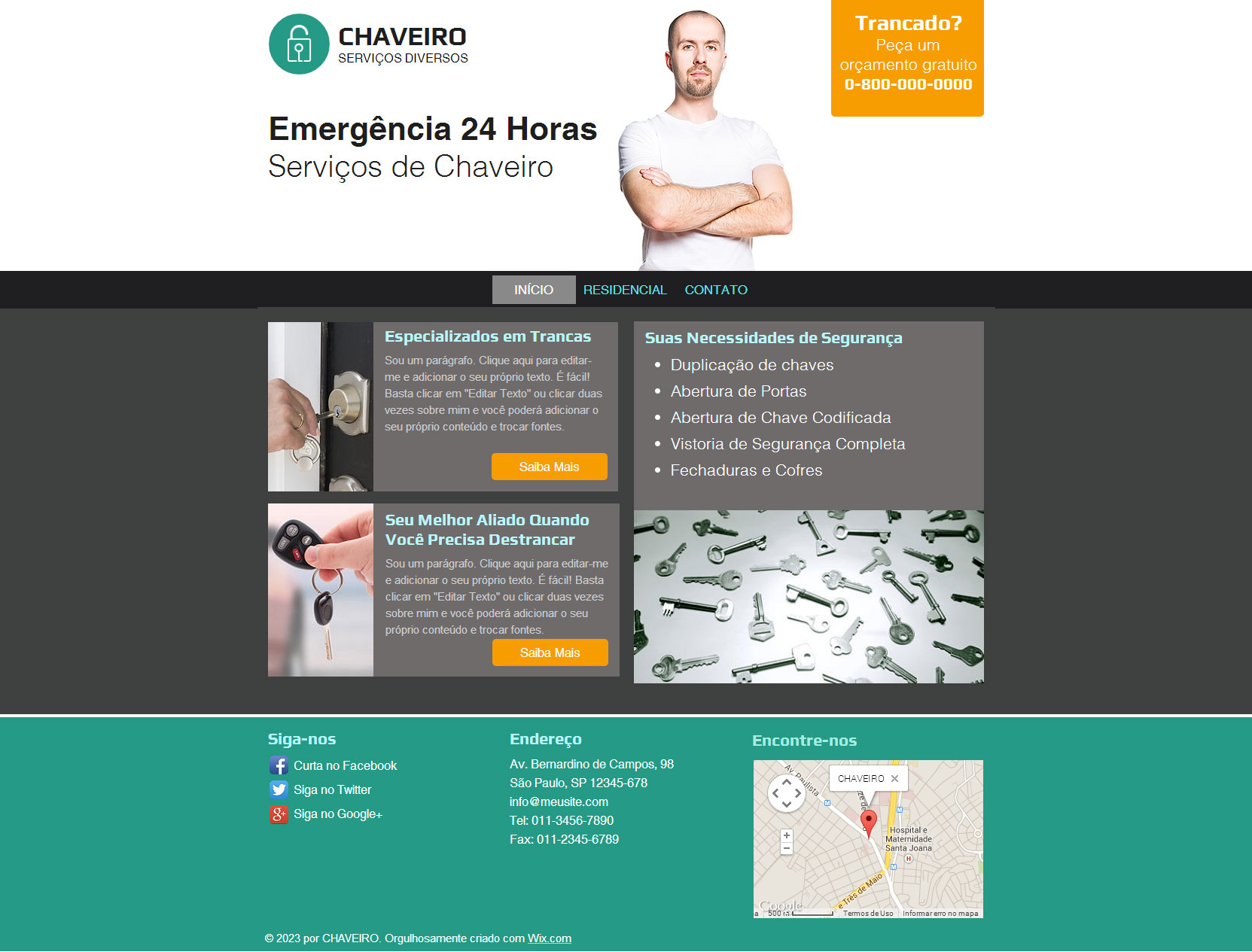 Chaveiro – 058